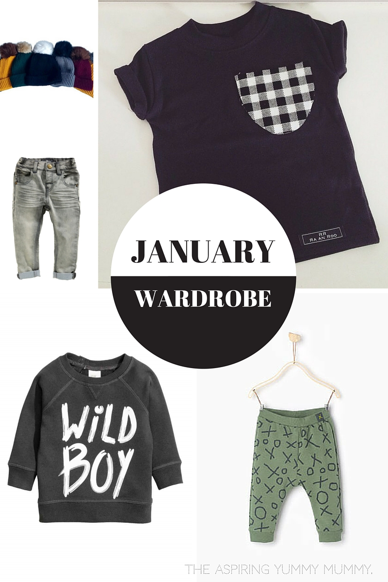 Harley's January Wardrobe.
