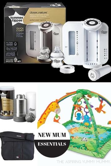 New Mum Essentials.