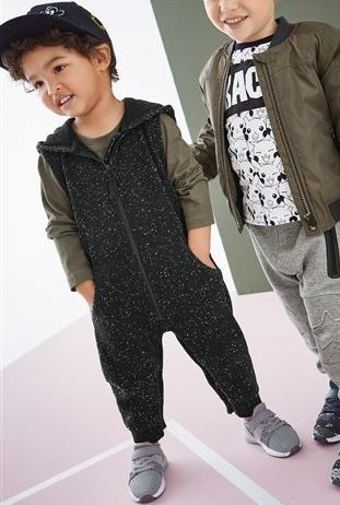 Zip Hooded All-in-One £14 - £17