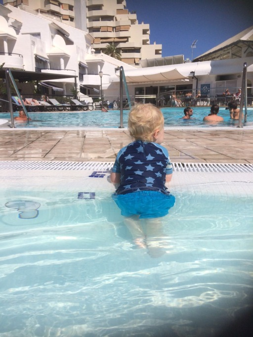 holiday with toddler
