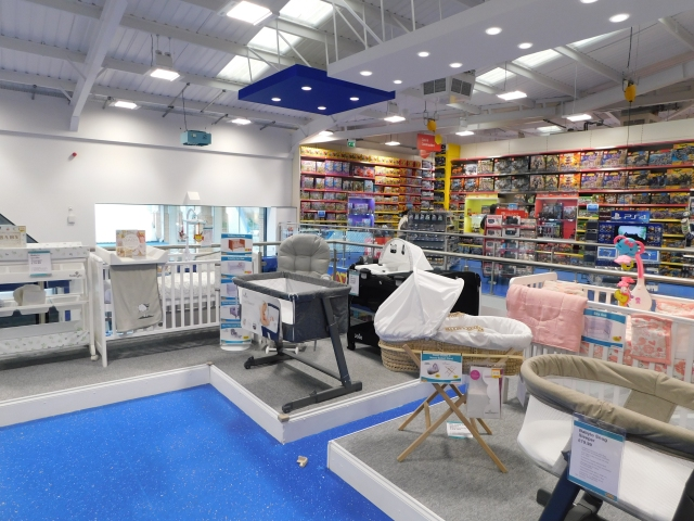 The Baby Room at Smyths Tamworth.